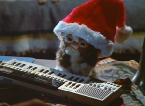 Gizmo on the Casio keyboard he used to compose most of the big hits of the '80s as well as Justin Timberlake's last album.